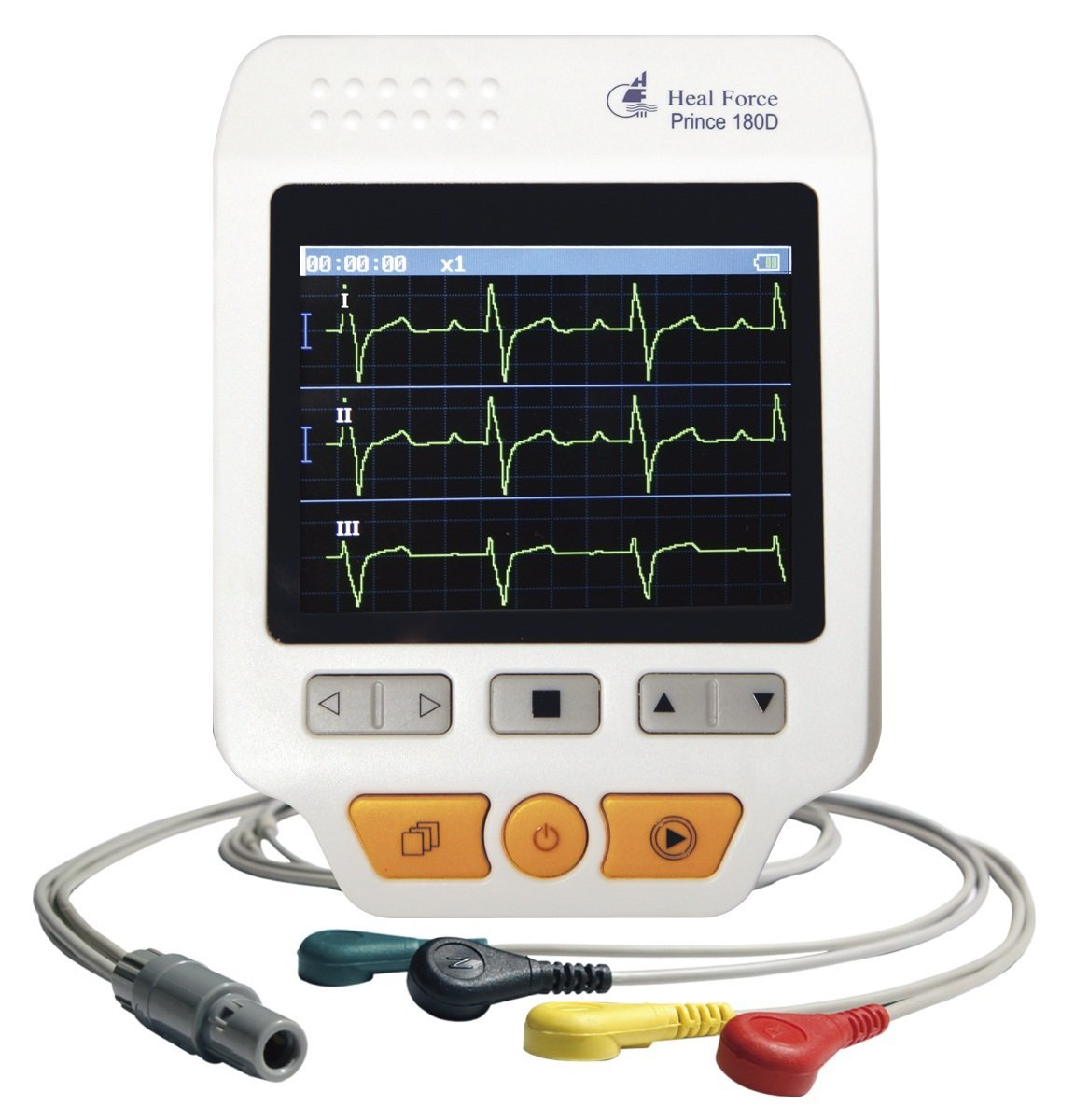 Handliches EKG Geraet
